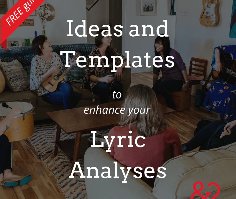 Feeling Stuck In the Middle? Never Give Up! Lyric Analysis Ideas for Music Therapists