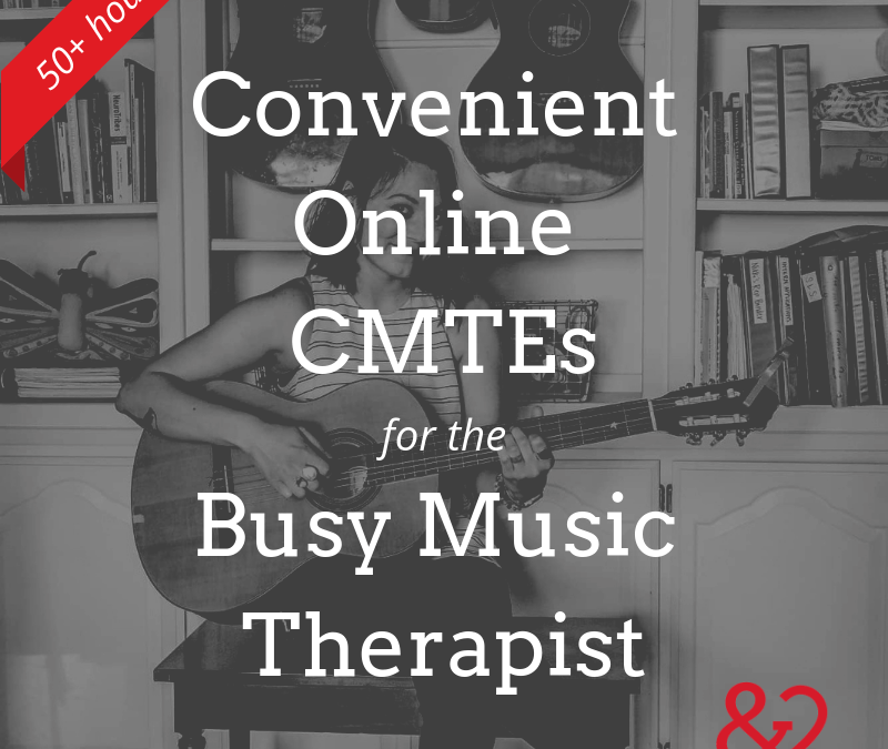Convenient Continuing Ed: Online Resources for Busy Music Therapists