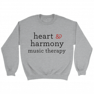 Heart and Harmony Unisex Crewneck Sweater