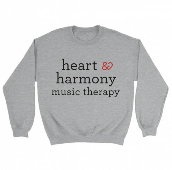Heart and Harmony Unisex Crewneck Sweater