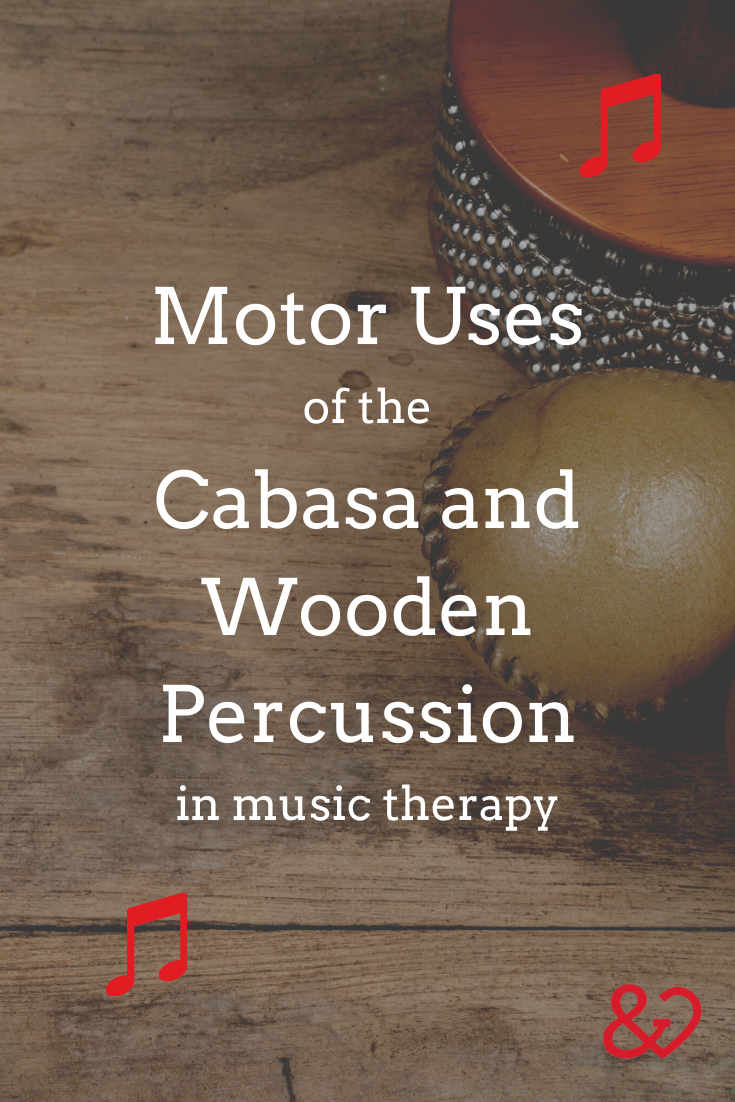 percussion in music therapy pin
