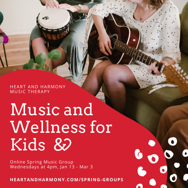 Music and Wellness for Kids Spring Image