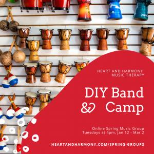 DIY Band Camp Spring Image