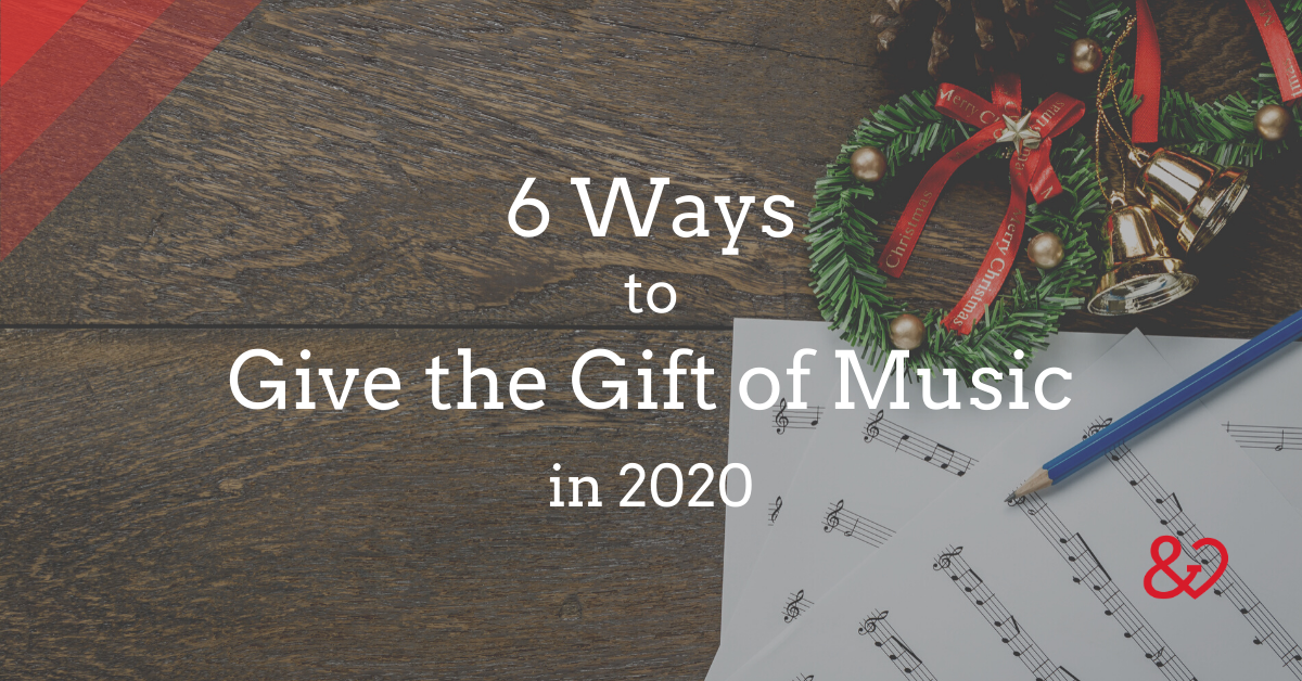 give the gift of music blog