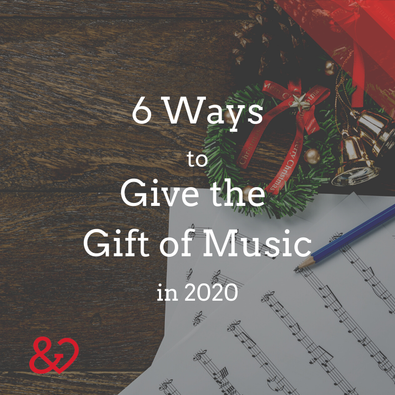 give the gift of music square