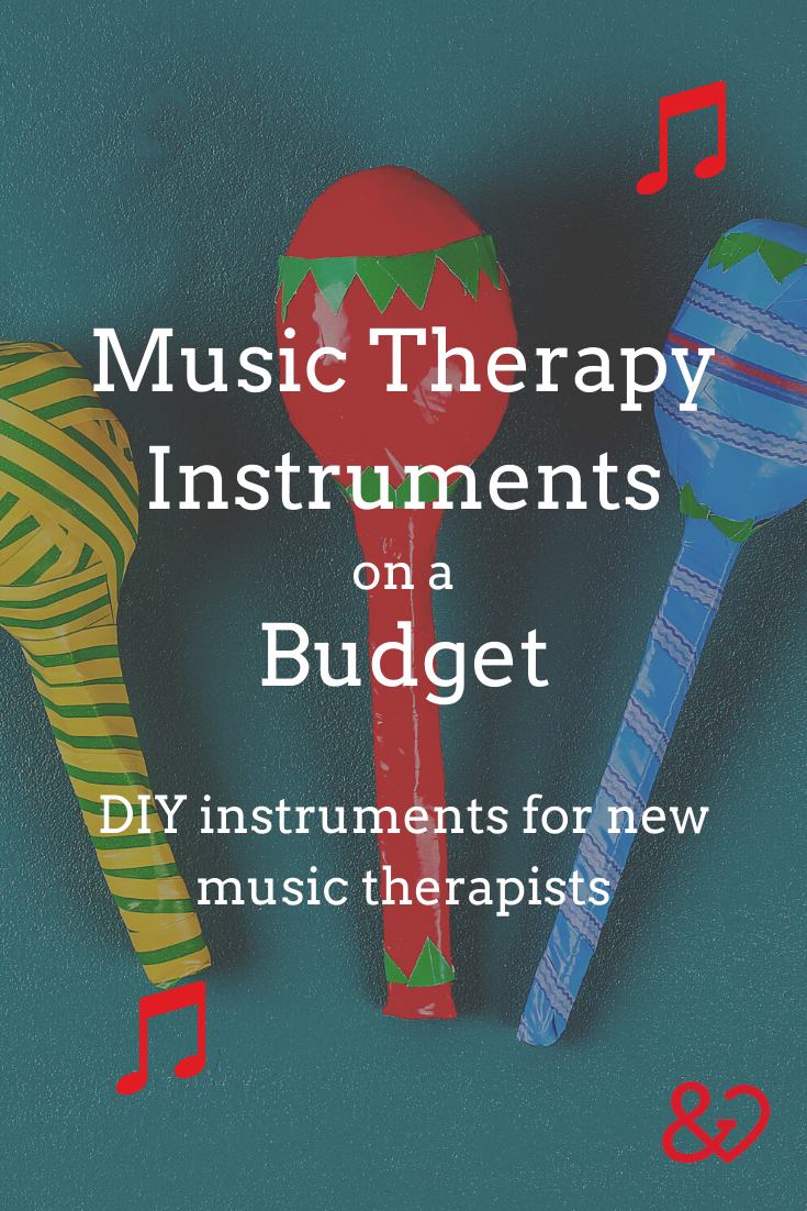 DIY Music Therapy Instruments Pin