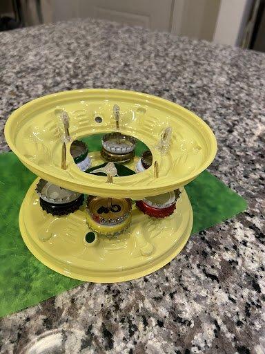 DIY Tambourine Step 12