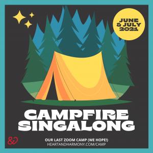 virtual campfire singalong 2021